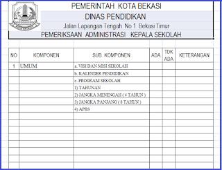 Berkas File : Download Instrumen Monitoring Sekolah Dan Kepala Sekolah