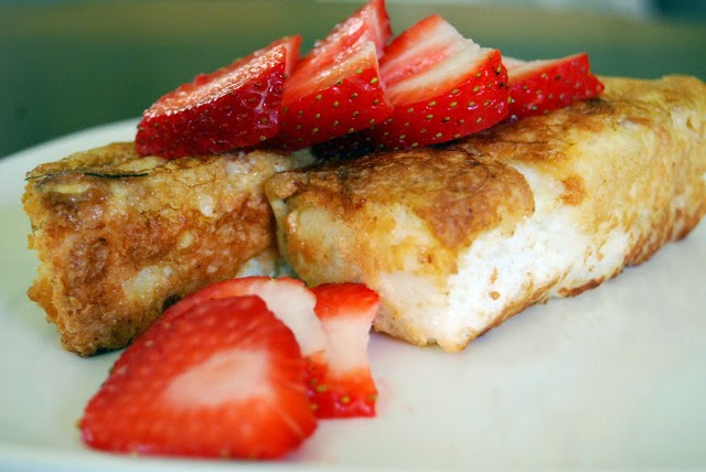 Madison's Angel Food Cake French Toast | by Life Tastes Good