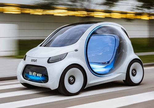 Tinuku Smart Vision EQ Fortwo for futuristic mobility