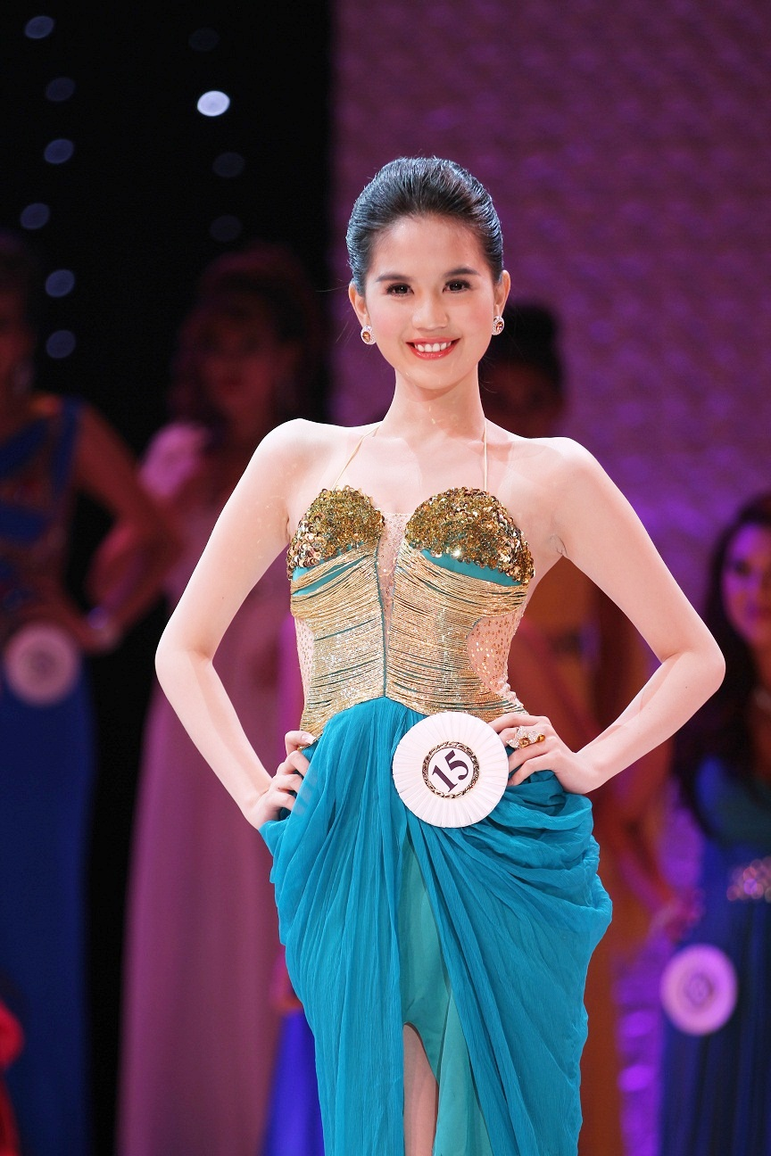 Miss Vietnam Continent 2011 Ngoc Trinh Naked Photos Leaked