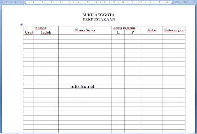 Download Administrasi Syarat Akreditas Sekolah/Madrasah Lengkap