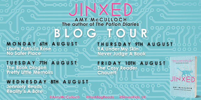 Blog Tour & Extract: Jinxed by Amy McCulloch