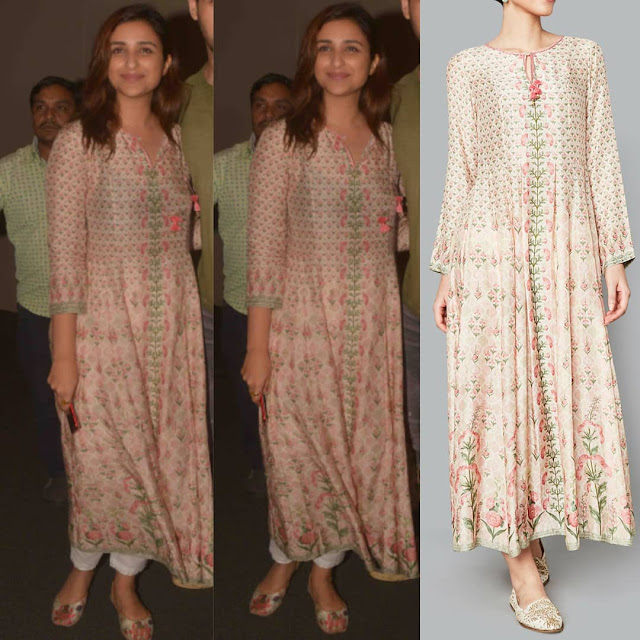 Parineeti Chopra in an Anita Dongre Outfit