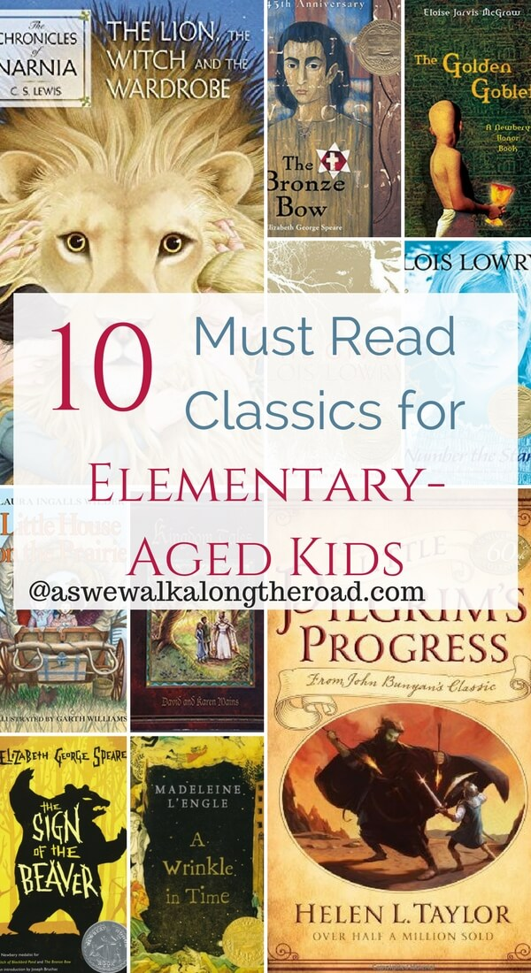 Classic books for upper elementary-aged kids