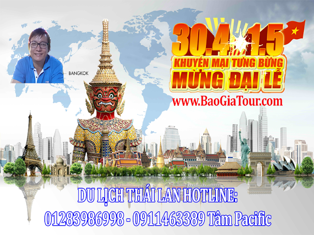 Du lịch 30/4 Thái Lan thỏa sức mua sắm và nghĩ dưỡng tại đất Thái Lan