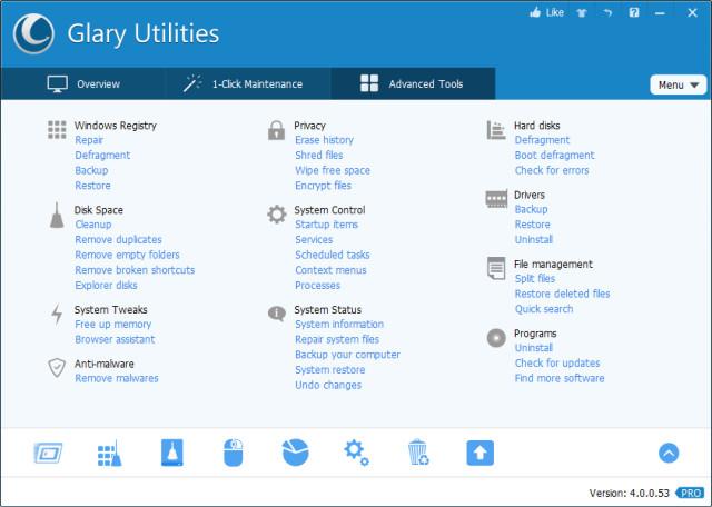 ecde1771a42 Glary Utilities 5.82 - Ο ''ελβετικός σουγιάς'' του υπολογιστή σας