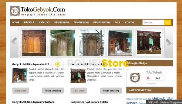 Toko Gabyok - Verifikasi Toko Online Aman dan Terpercaya - Polisi Store