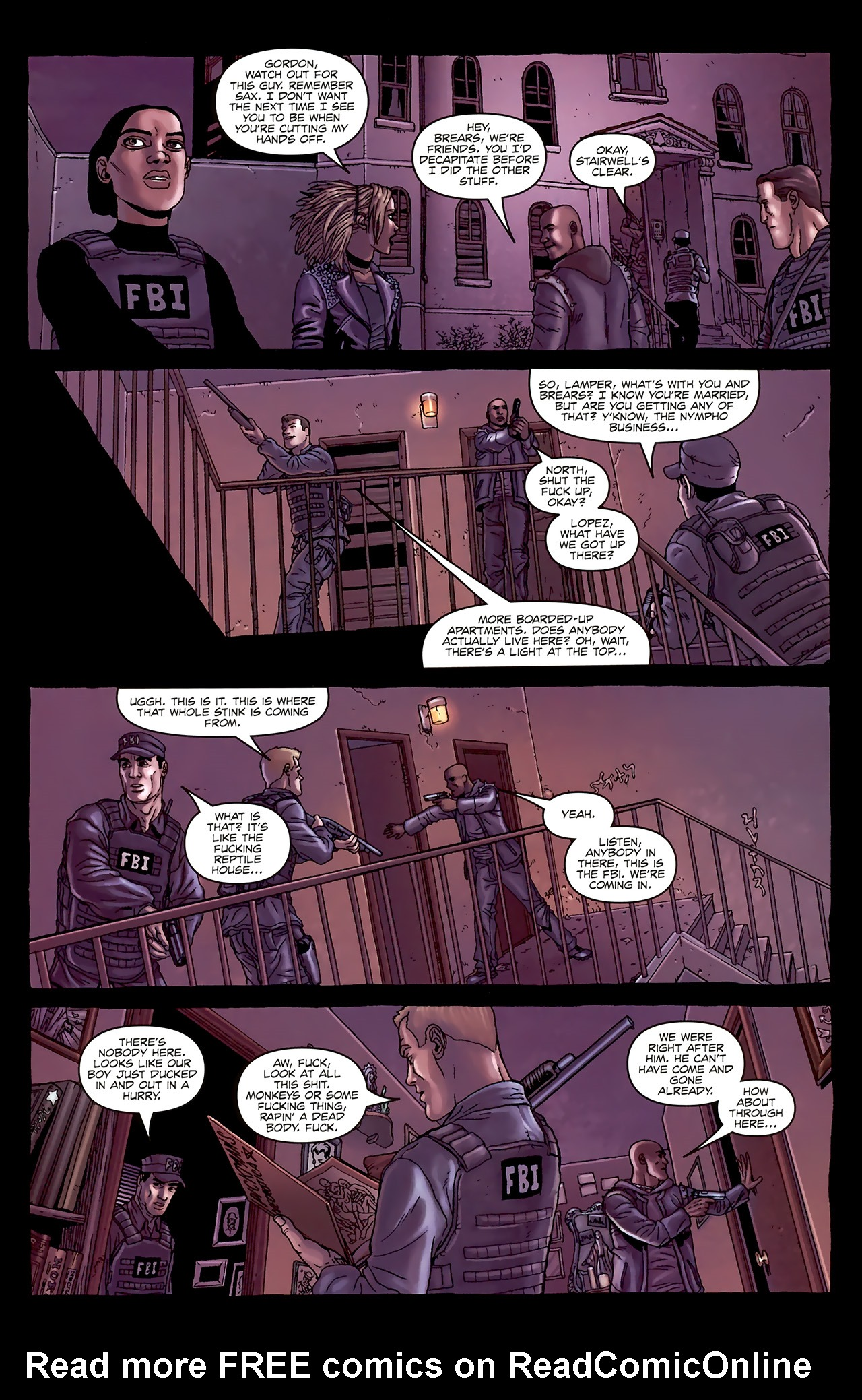 Read online Alan Moore's Neonomicon comic -  Issue #1 - 31