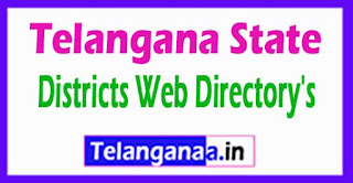 Telangana State Districts Web Directory's List TS New Districts Web Portal