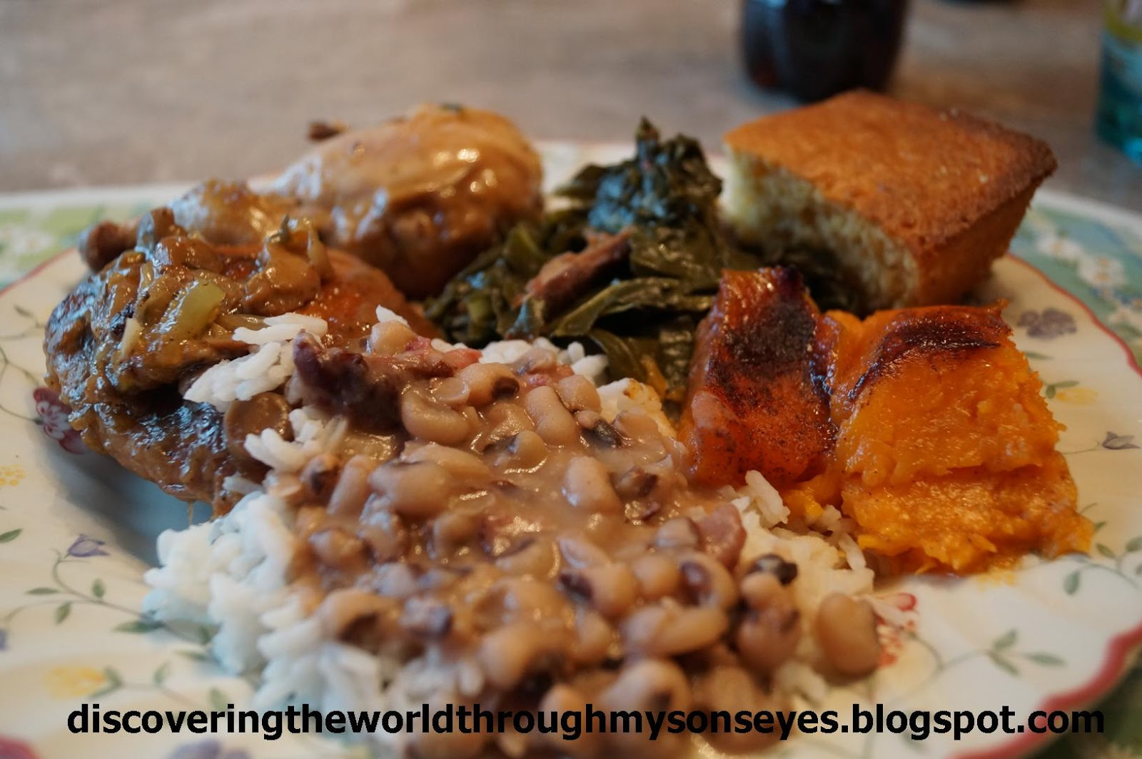 Traditional Southern New Year's Day Dinner – Discovering ...
