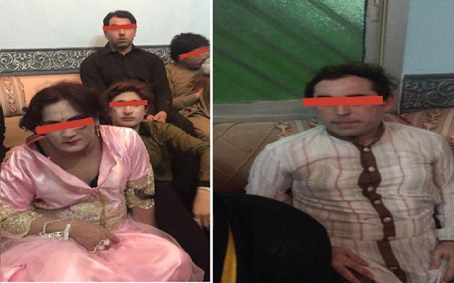 شرطة الرياض تطيح بـ35 باكستانياً نظموا حفلاً للشواذ.. وهذا ما ضبطوه معهم نعتذر عن الصور المقززة
