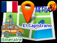 Nicosol, SL - Cómo llegar a la recepción de El Capistrano - en francés