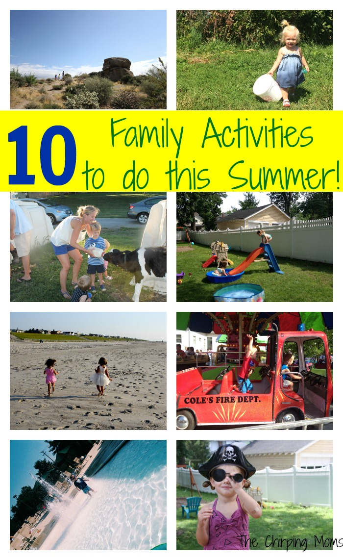 10 Summer Makeup Must Haves: 10 Outdoor Summer Activities For Families