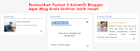 footer 3 kolom di blogger