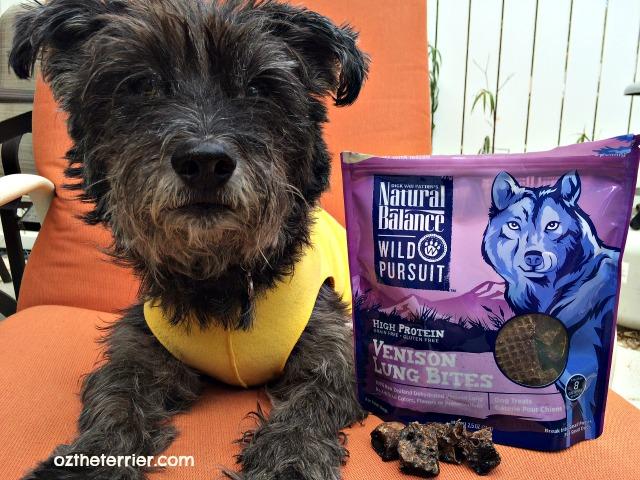 oz natural balance wild pursuit dog treats