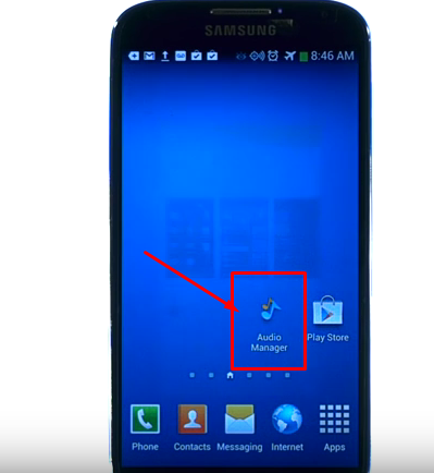 إخفاء الصور و الفيديوهات بداخل تطبيق صوتي على الهاتف