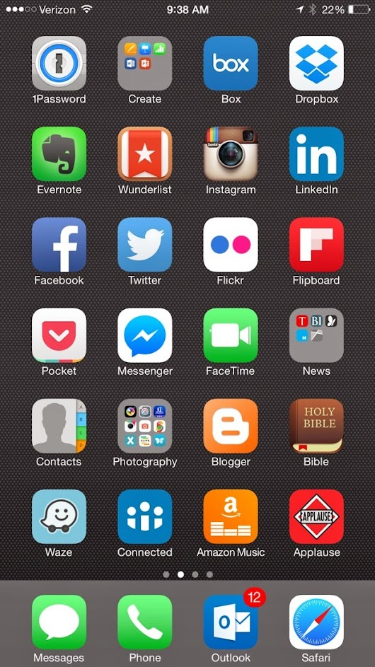 How to add an App icon of our Website onto Your Mobile Device