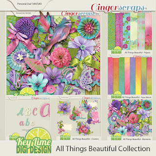 All Things Beautiful from Key Lime Digi Design