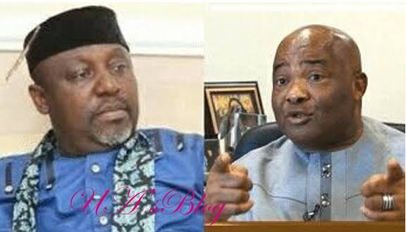 APC crisis: Drop your governorship ambition, quit politics now – Okorocha charges Uzodinma