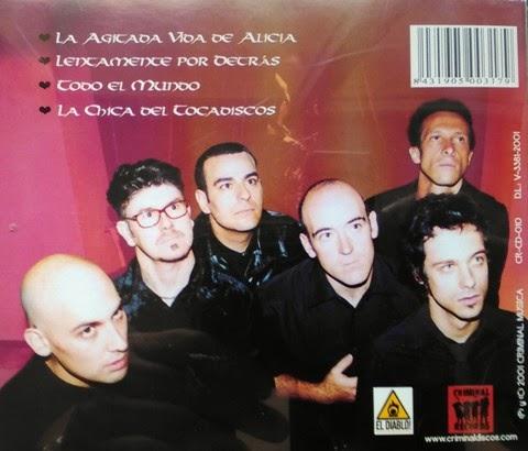 TONI GOMINOLA Y LOS IMPOSTORES - (2001) Oraciones de gamuza