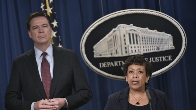 Loretta Lynch torches James Comey with fiery statement. She's responding to these claims Comey made