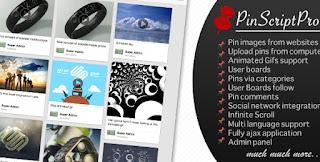 PinScriptPro - Pinterest Like Website Php Script