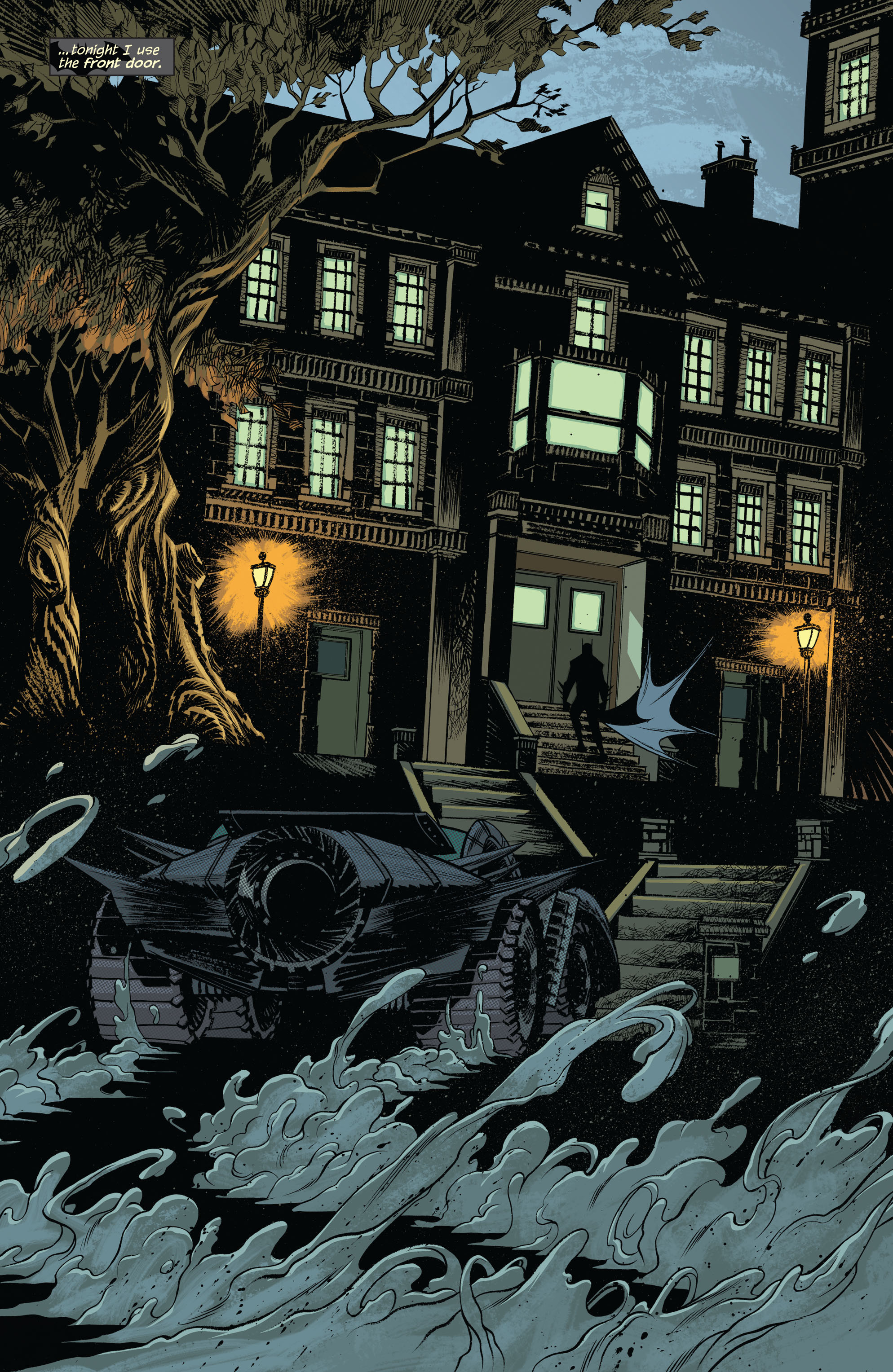 Read online Arkham Manor comic -  Issue #1 - 12