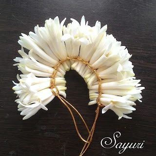 Floral Hair Accessories, tuberose veni