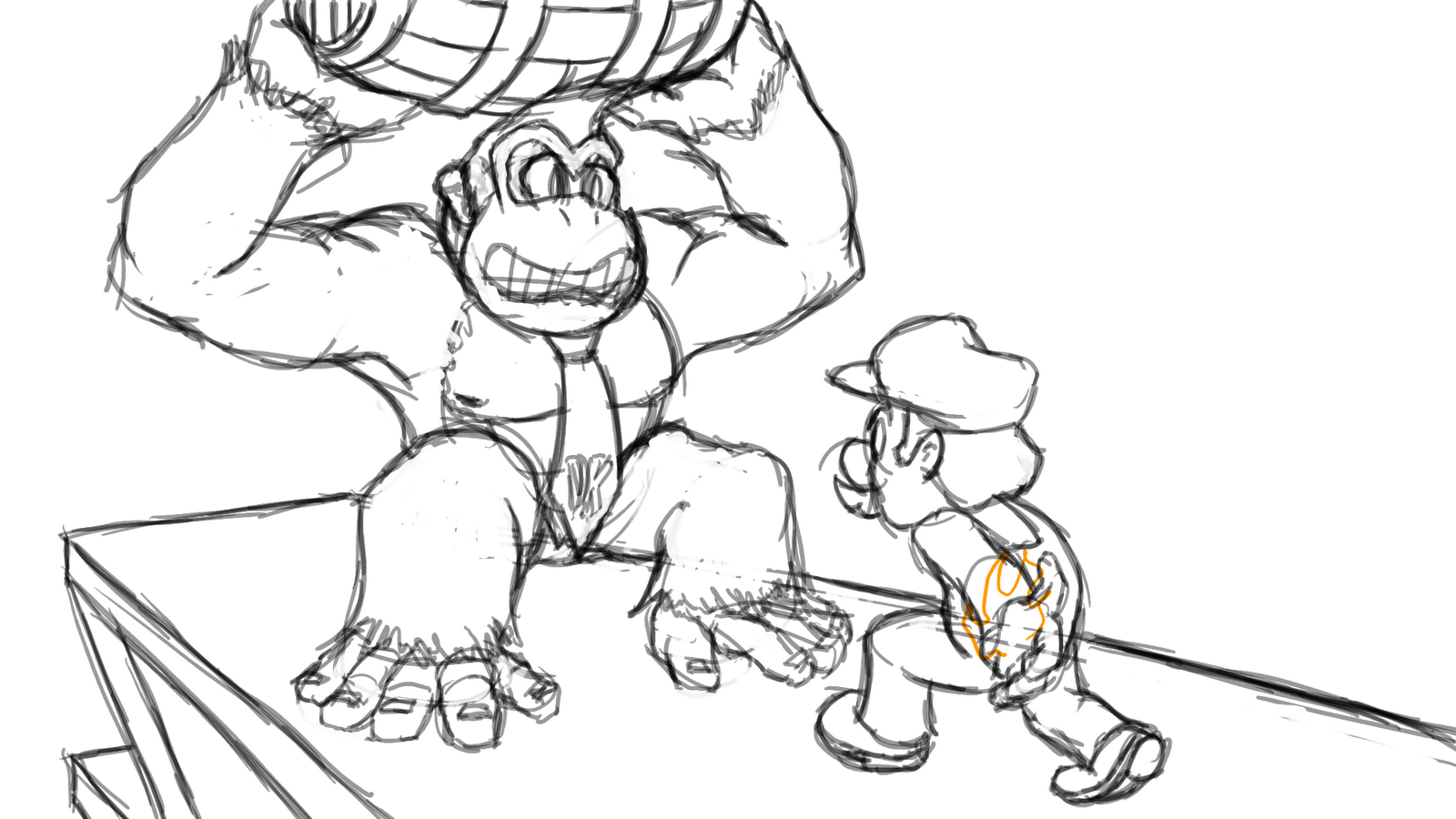 Free Coloring Pages Of Donkey Kong Super Mario