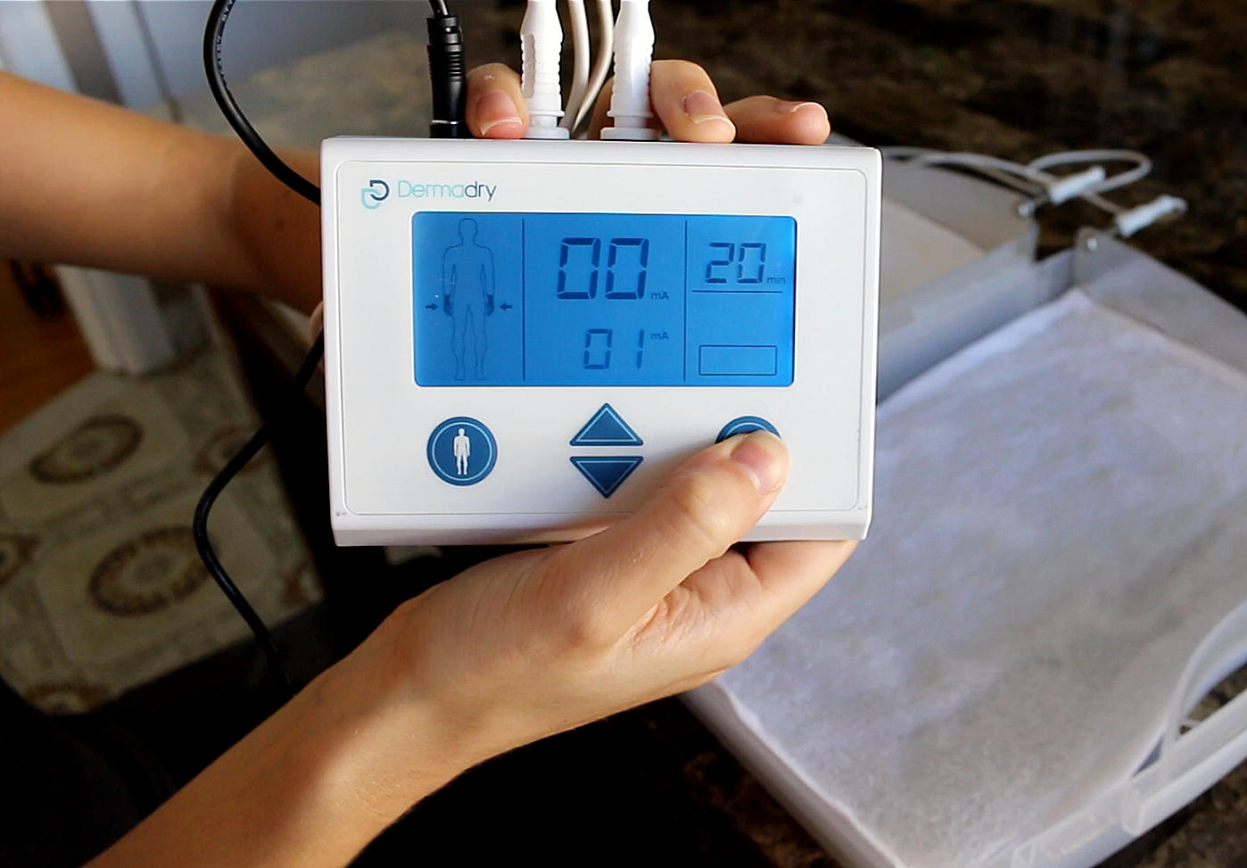 Dermadry Iontophoresis Machine Controller