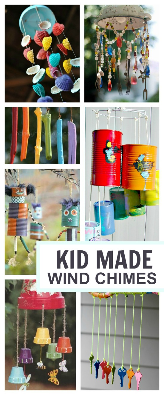WIND CHIME CRAFTS FOR KIDS: Beautiful ideas! #windchimesdiy #winchimeshomemade #windchimesdiykids  #springcraftsforkids #kidscrafts #craftsforkids #springactivitiesforkids #artsandcraftsforkids #activitiesforkids