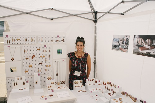Minimalist Exotic Wood Jewelry By Nicole Gagnon The