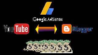 Penghasilan Google Adsense Youtube dan Blog