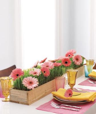 Ideas para hacer centros de mesa
