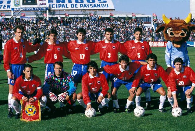 Formación de Chile ante Estados Unidos, Copa América 1995, 8 de julio