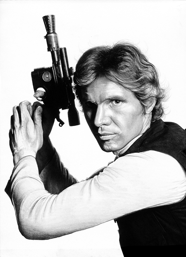 14-Harrison-Ford-Han-Solo-Corbyn-S-Kern-Game-of-Thrones-Star-Trek-and-Star-Wars-Character-Drawings-www-designstack-co