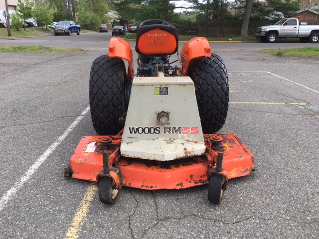 Newsearch Equipment & Salvage: Kubota L185 with Woods RM59
