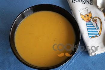 Βελουτέ πατάτας και καρότου με κάρυ