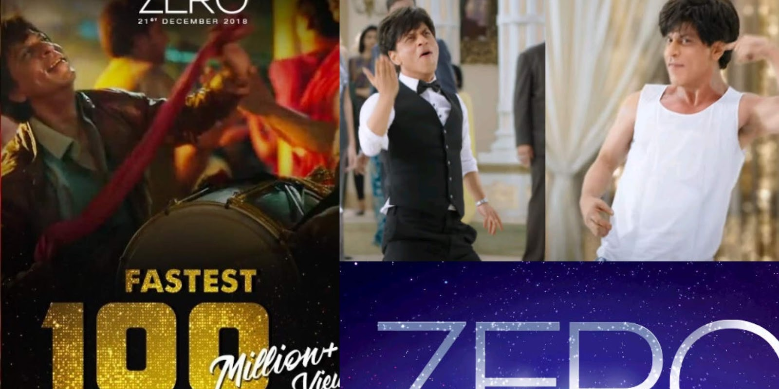 Shah Rukh Khan Zero Trailer Breaks Yet Another Record On Youtube!