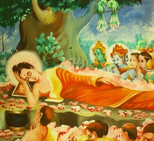 Di sản cuối cùng của Đức Phật Thích Ca truyền lại cho các đệ tử