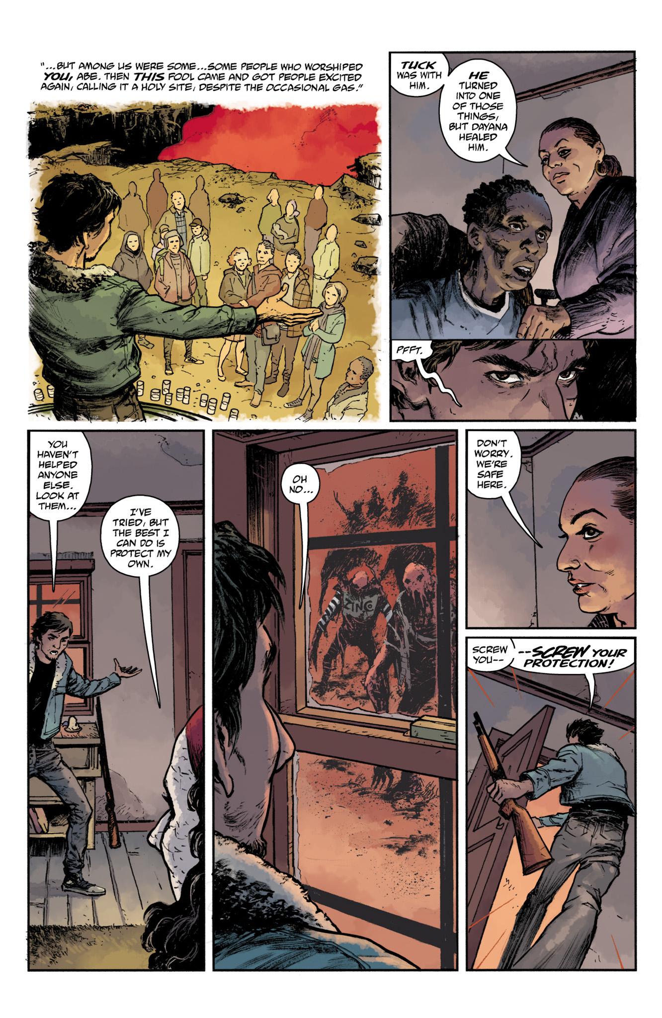 Read online Abe Sapien comic -  Issue #17 - 9