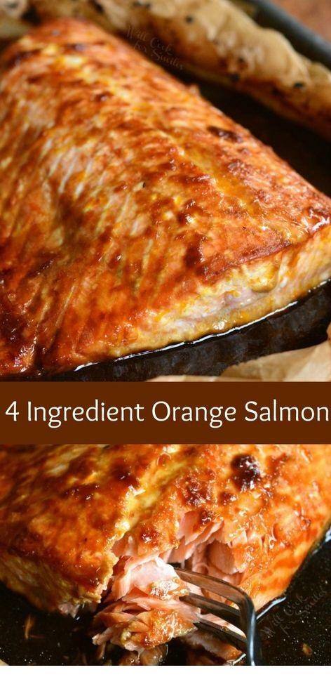 4 Ingredient Orange Salmon