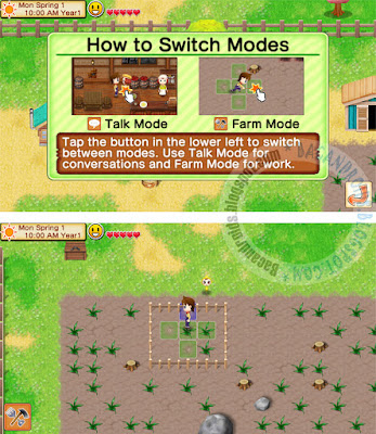 Game Harvest Moon Seeds Of Memories Apk+Data Free download Gratis