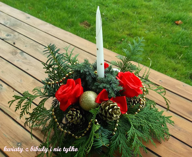 Świąteczne wieńce i stroiki, ogród przydomowy, wieńce i stroiki bożonarodzeniowe