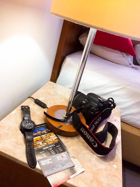 istirahat di hotel ilos bandung