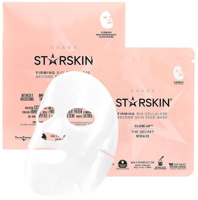 Starskin Firming Bio-cellulose Second Skin face mask