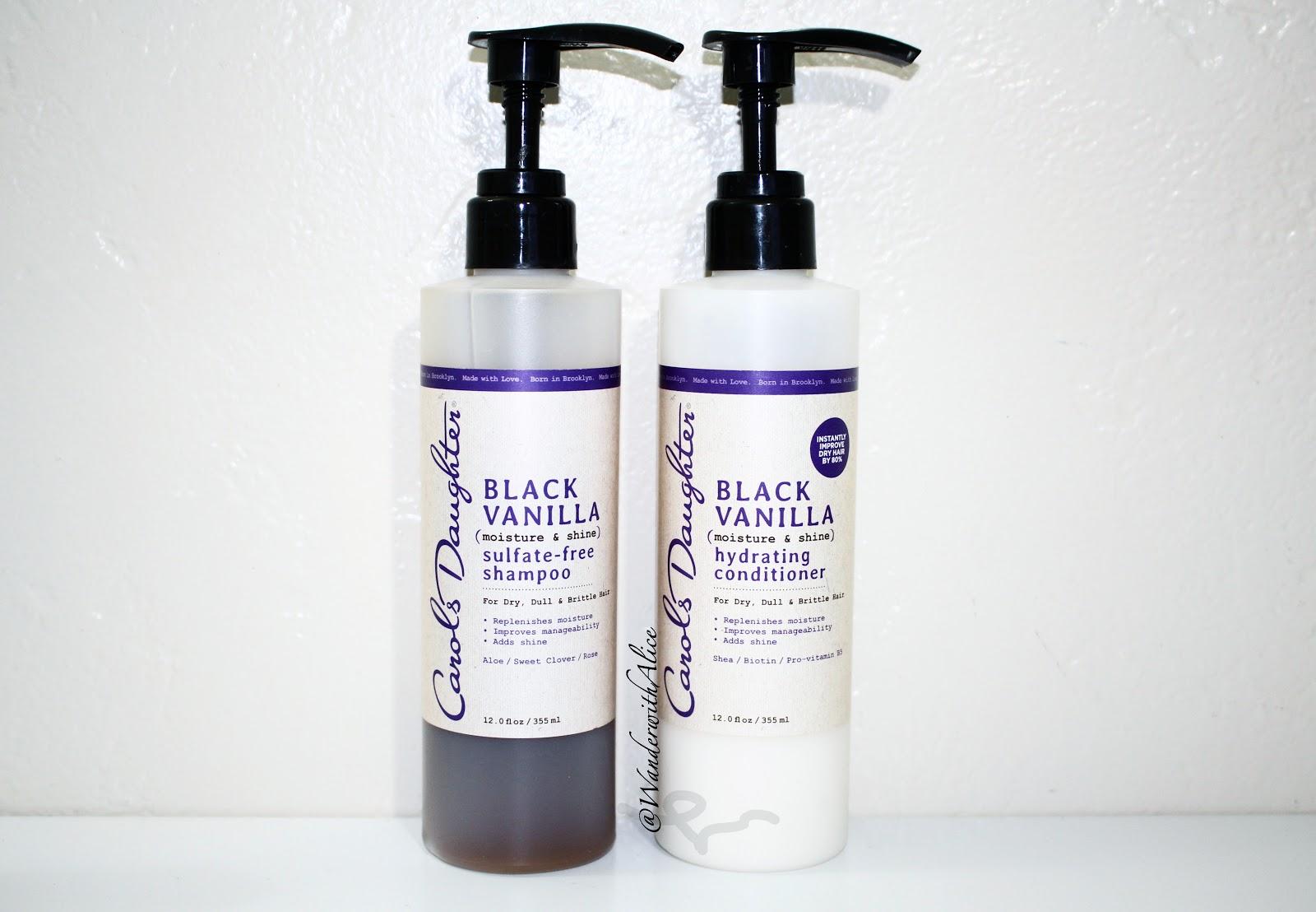 Carol's Daughter] Black Vanilla Shampoo & Conditioner Review