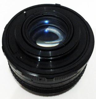 Lensa Fujinon tampak belakang