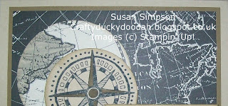 Stampin' Up! Made by Susan Simpson Independent Stampin' Up! Demonstrator, Craftyduckydoodah!, Going Global, Going Places DSP,