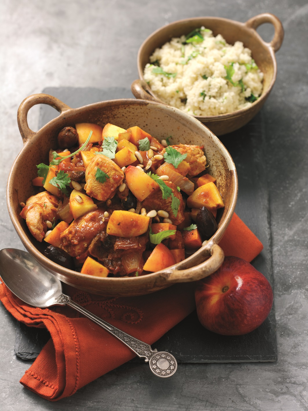 African Peach And Chicken Tagine Recipe To Try Out